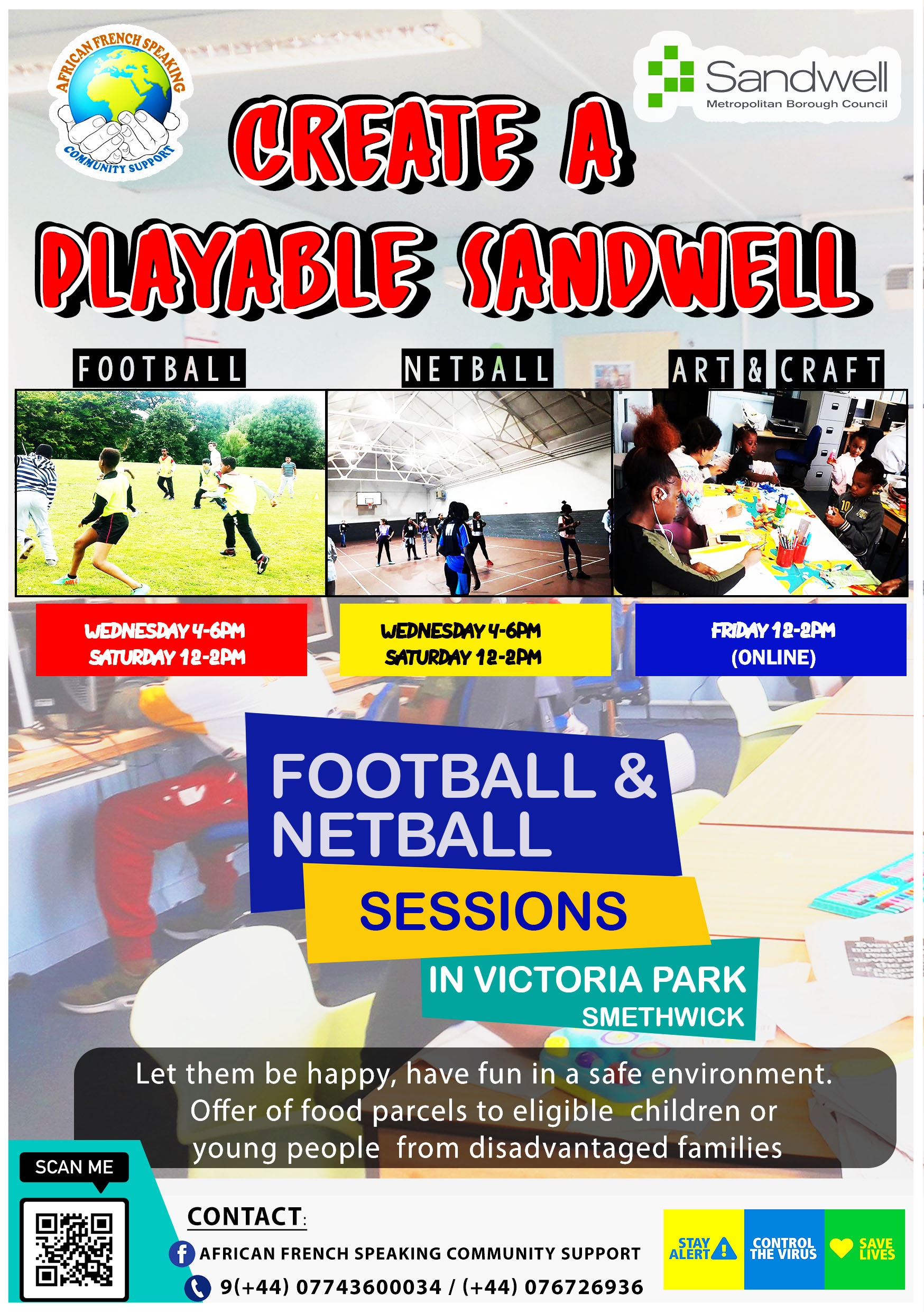 CREATE A PLAYABLE SANDWELL